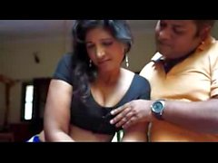 Sexy Indian Aunty Romance With Debar Massage body by devar - bhauja
