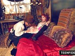 TEENFIDELITY Steampunk Teen Zoey Nixon Creampied