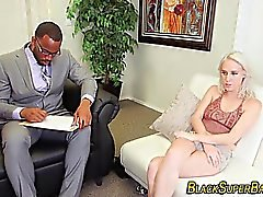 Black dong whore banged