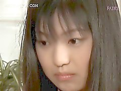 Asian gorgeous teen enjoying her first sexual experience