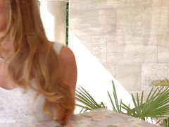 Check my dress by Sapphic Erotica lesbian love porn with Capri Anderson Angelina Brill