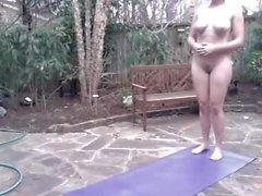 amateur grandes tetas yoga