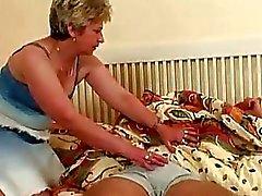 grandes mamas maduro adormecido
