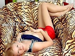blondie chick stripping and rubbing