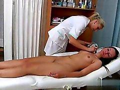 Teen hard anal pounding