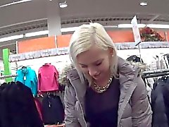 Flawless czech girl was seduced in the mall and drilled in p