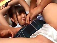 asiático creampie amador japonês hardcore