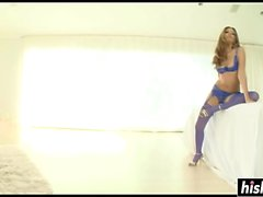 Jenna Haze in stockings gets drilled