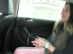 Damn hot Iva gets fucked in the backseat
