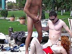 bisexuell blowjob gruppen-sex