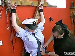 sexy mature police seduced by prisoner part4