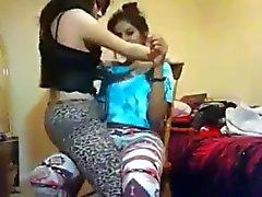 asian girl on girl lapdance