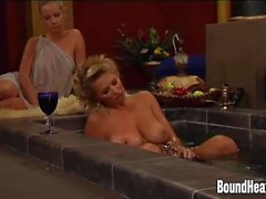 lesbienne masturbation le sexe oral domination blond