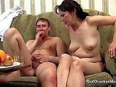 eski rus ayyaş cinsiyetten sarhoş-rusça-anne