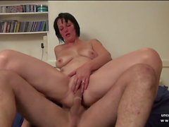 Amateur french milf banged fisted sodomized n facialized