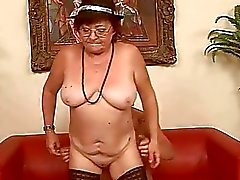 Ugly fat old bitch gets fucked hard