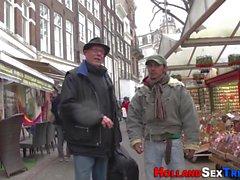 Dutch prozzie riding cock