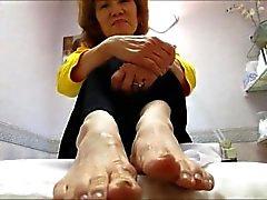 Kim granny Dirty soles