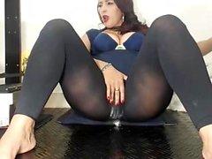 lingerie masturbation nylon
