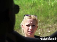 blondi doggystyle hardcore ulko teini-ikäinen