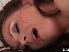 morena close-up peludo hd