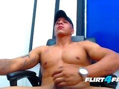 флирт4freeguys большой петух латиных мускулистый латинское мастурбационное дергание от монстра
