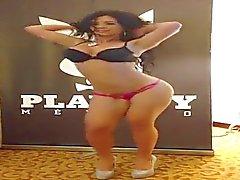 solo meisje latijn striptease latina
