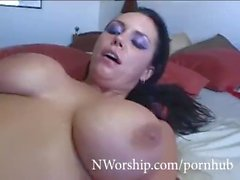 hot slut huge boobs loves anal toys and big black cock interracial anal sex
