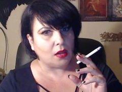 de fumar de fumar - maduros