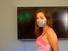 Rock, Paper, Scissors, Tape Bound and Gagged