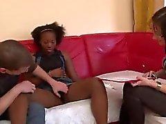 anal noir et ébène interracial bas triplettes