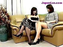 asiático lésbica maduro chinês