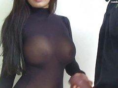 coppia masturbazione asiatico titfuck