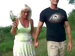 Mature woman and guy - 20