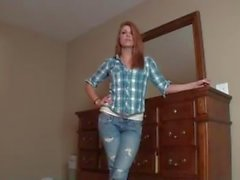 sexy redhead teen drives you crazy
