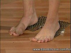 pinzas para la ropa con cera depilación de los senos pezones tortura batir la tortura esclavitud