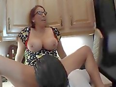 Hot MILF fucks the