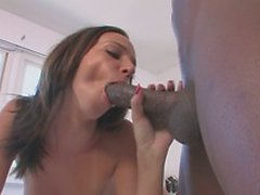 Horny tenant fuck her landlord with the big-black-cock
