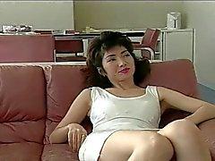 Asian Mom teaching