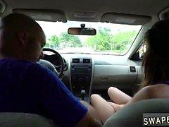 Teen vagina examination Driving Lesally's sons
