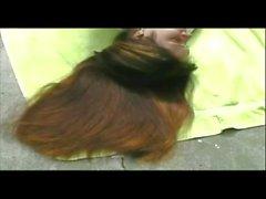 Donnette's Long Pantene Hair Brushing, Ponytails and Braids