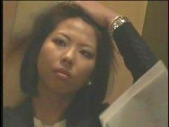fumador - asian asian del hotel asiático amateur de fumar