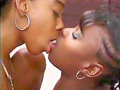 лесбиянки черное и черное дерево марочный