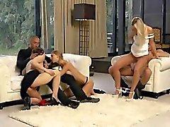 sexe en groupe blond groupe