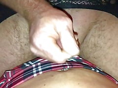 Daddy fucks himself