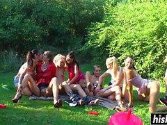 blondin brunett gruppsex hd