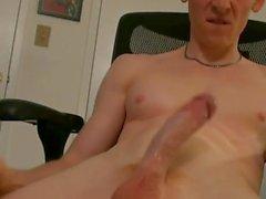 masturbation muskulös cum shot big cock