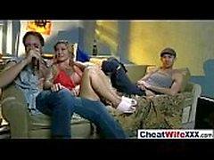 Sexy cheating Wife (kleio valentien) Enjoy On Camera Hard Sex Act movie-18