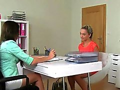 Euro agent sixtynines with auditioning babe