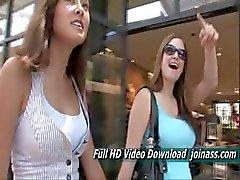 Miyu Cute Half Korean Hottie Visits A Busy Mall